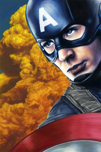 Artwork for Captain America: The First Avenger