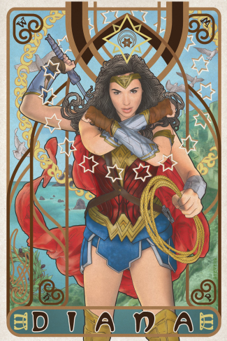 Artwork for Wonder Woman